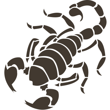 svg stock scorpion transparent clear baby #102717817