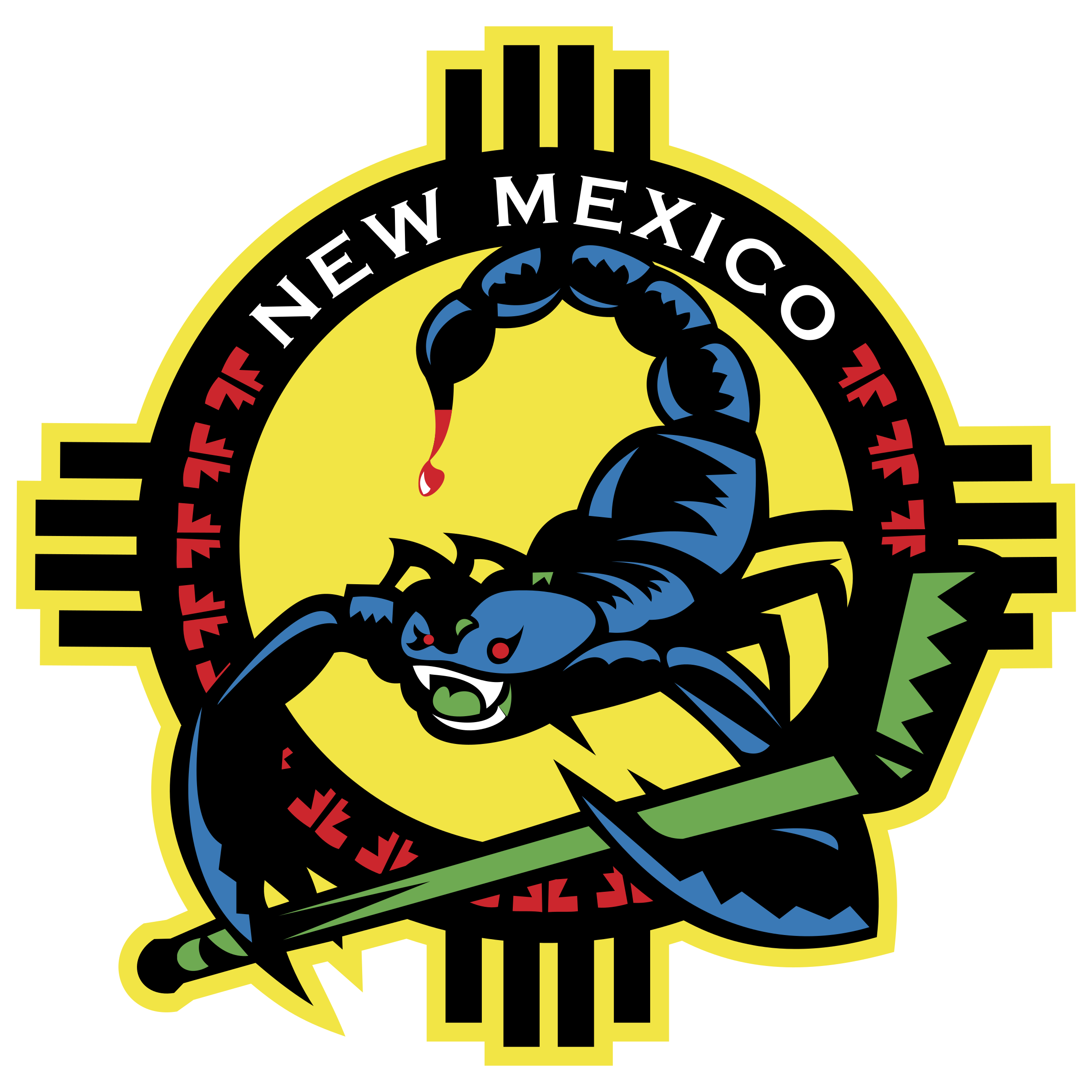clipart transparent stock New Mexico Scorpions Logo PNG Transparent
