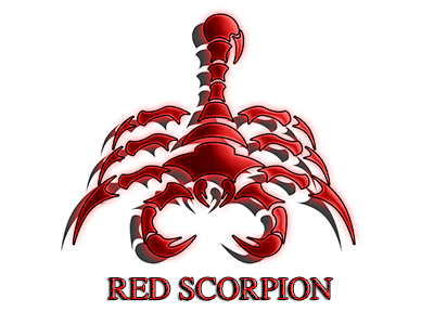 png black and white stock Red scorpion png