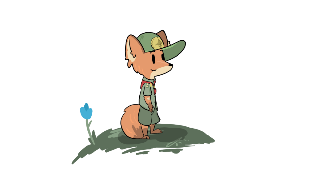 picture royalty free Zootopia drawing. Scout nick by triggerhappyp