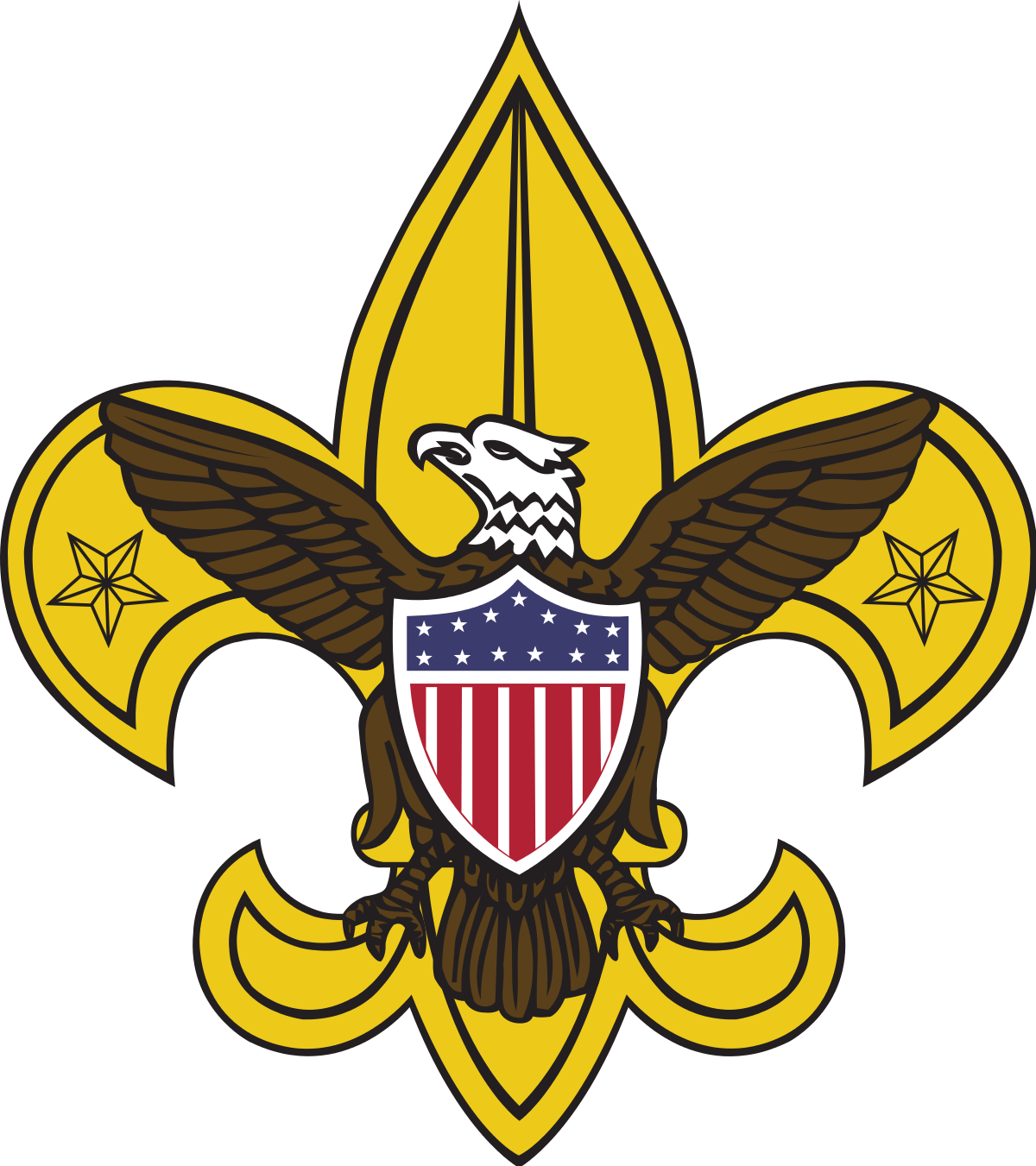 clip art library stock Boy Scouting