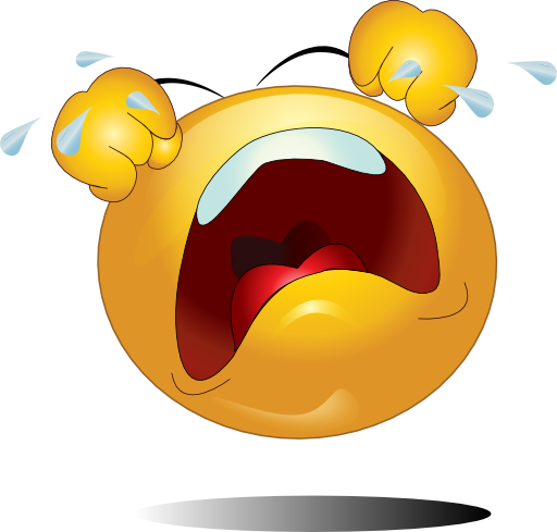 svg transparent Crying Smiley Emoticon Clipart