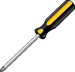 vector transparent library Screwdriver clipart. Bigredsmile a clip art.