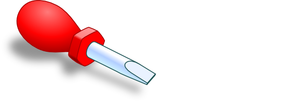 jpg transparent library Red Screwdriver Clip Art at Clker