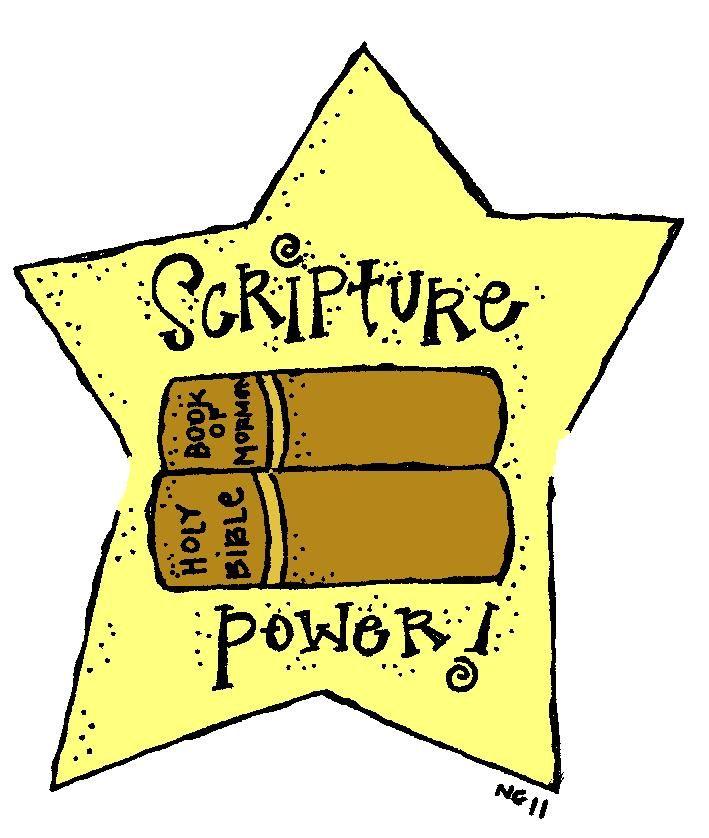 clipart freeuse library Melonheadz lds illustrating scriptures. Scripture clipart