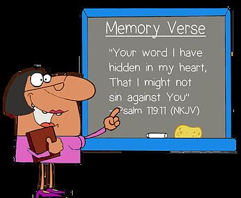 jpg transparent Scriptures clipart memory verse. Article on teaching children.