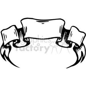 picture transparent library Ribbons royalty free . Scroll banners clipart