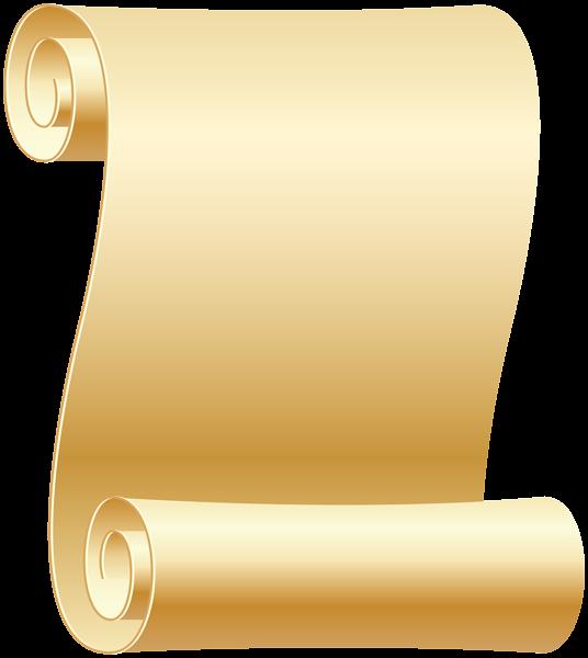 vector Empty Scroll Transparent PNG Clip Art Image