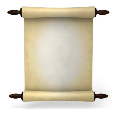 clip black and white library Download SCROLL Free PNG transparent image and clipart