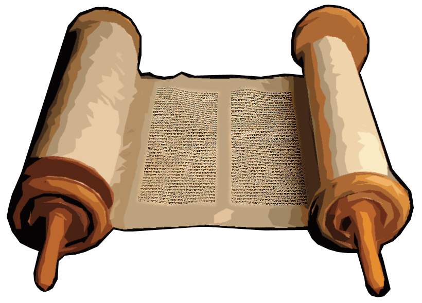 svg free library Old Testament Scroll Clipart