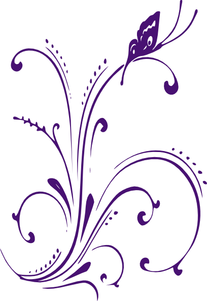 graphic library library Scrolls clipart vine. Flower scroll pencil and.