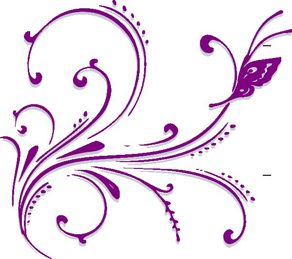 graphic black and white Scroll design clip art. Scrollwork clipart.