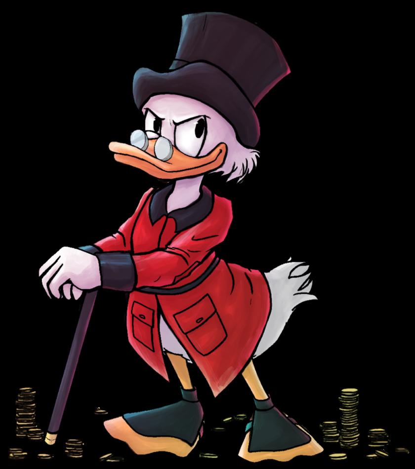 transparent Scrooge McDuck by Leylaleya on DeviantArt