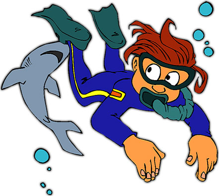 clipart freeuse stock Scuba clipart. Free diving gifs animations.
