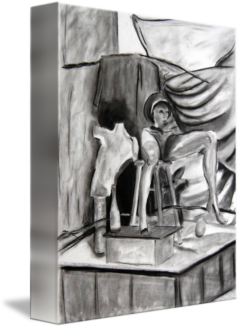 image transparent Art final vine by. Sculpture drawing charcoal