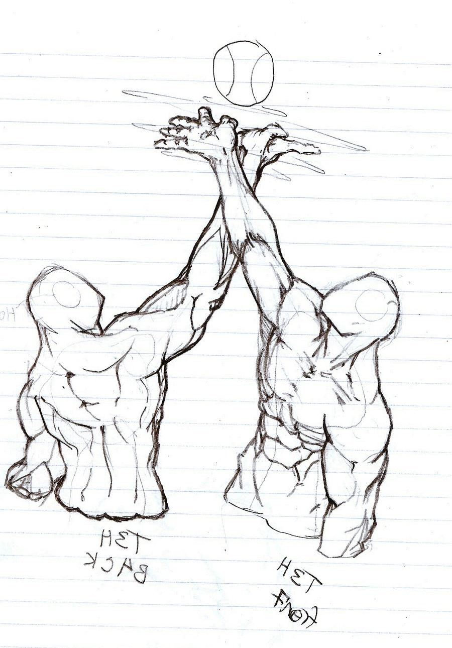 clip art freeuse Sculpture drawing concept. Palm up by ravager