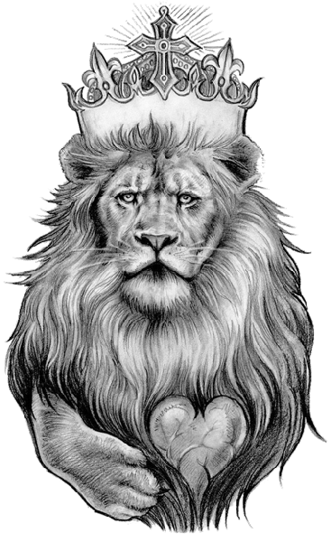 banner black and white stock Drawing charcoal lion. Tattoo designs png animal