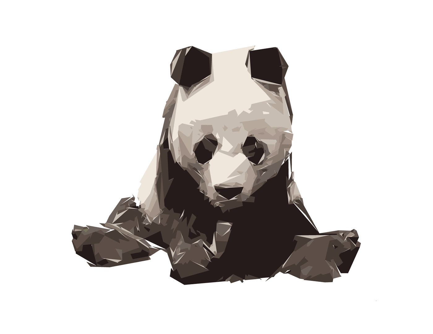 banner library stock Image result for geometric panda