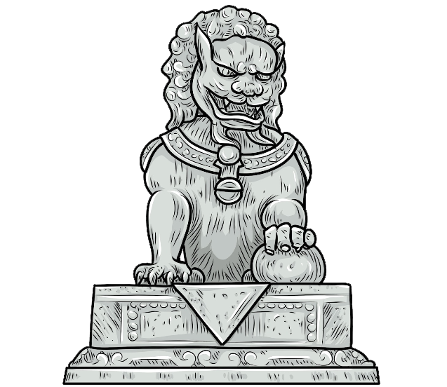 clipart royalty free stock Statue Stone carving Sculpture