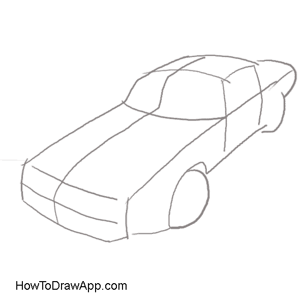 jpg freeuse library How to draw a Pontiac Firebird Trans Am