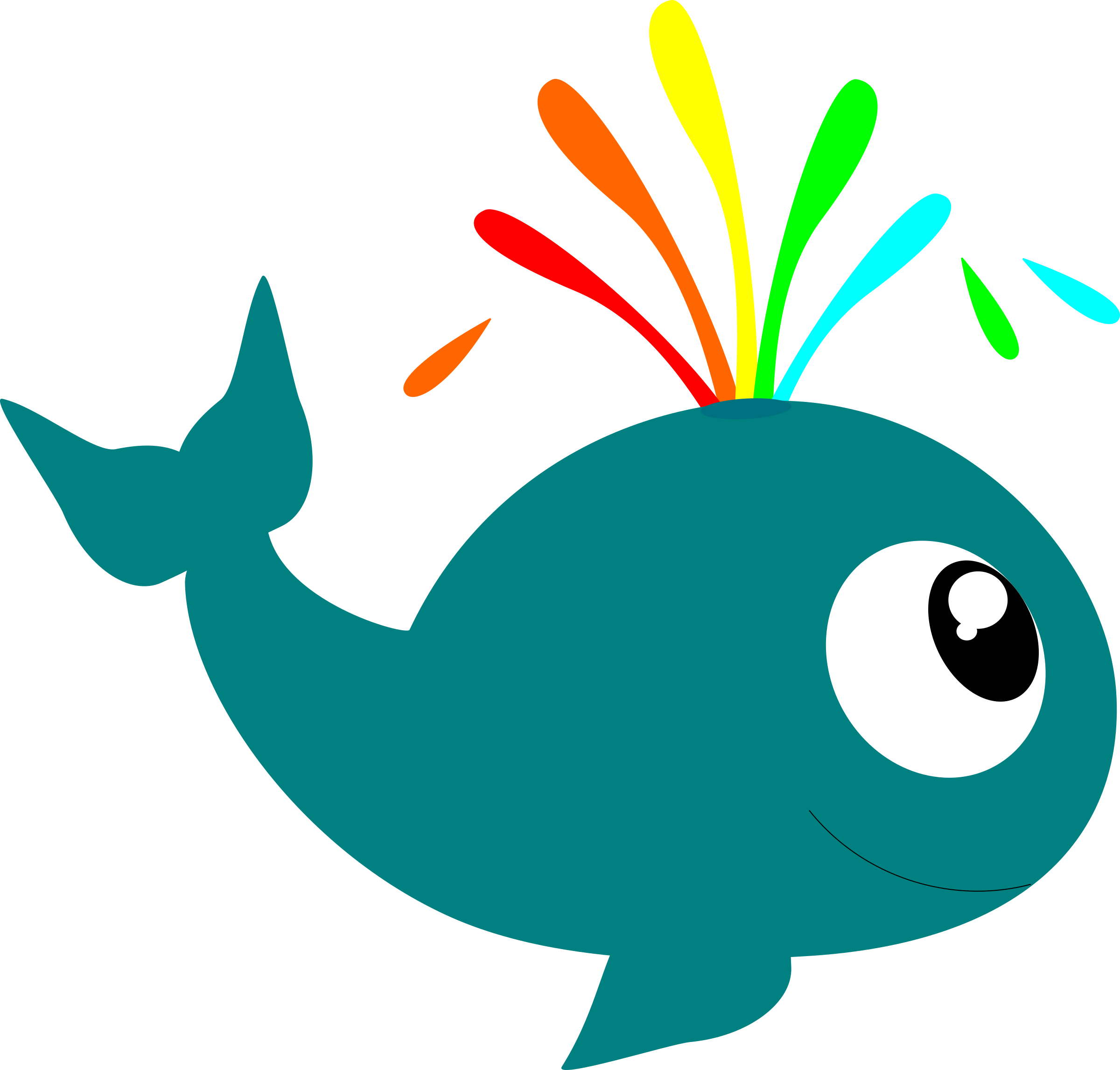 image free library Sea animal clipart. Aquatic deep creature whale