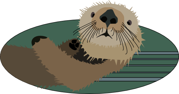 clipart royalty free download Sea Otter Clip Art at Clker