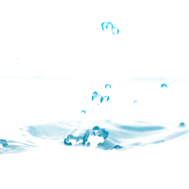black and white stock Free water drop sea. Vector blue background