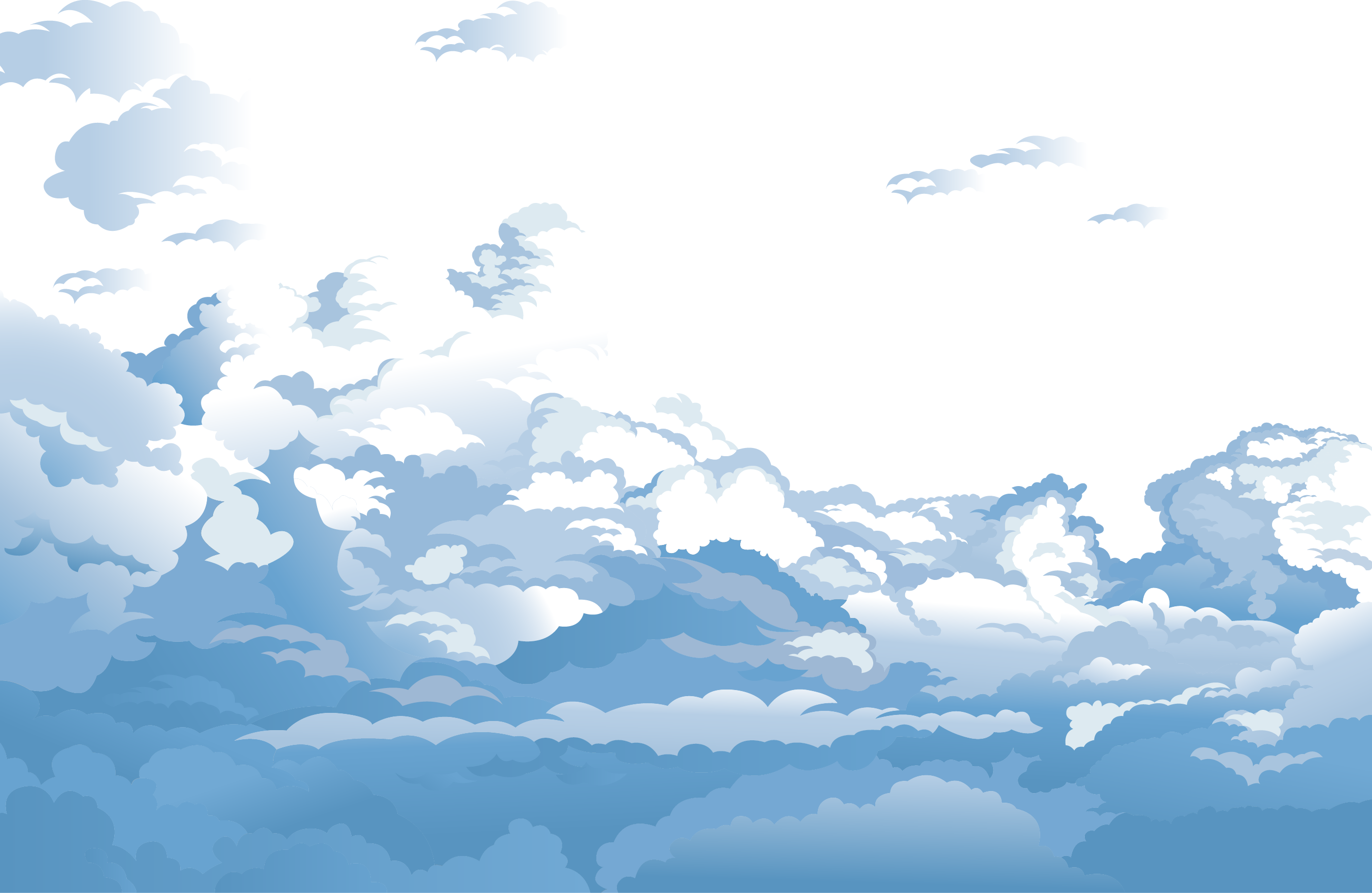 clipart library download  sky sunrise png. Vector blue and white