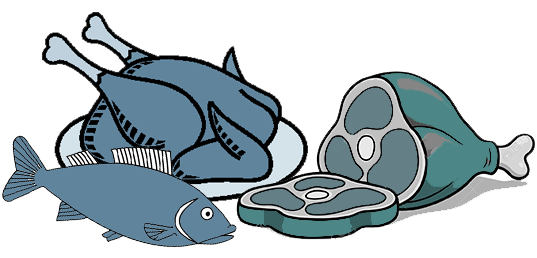 royalty free download Meat poultry free on. Seafood clipart.