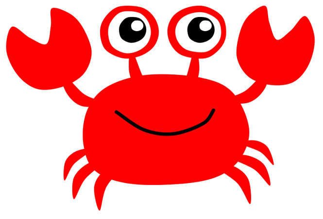 download Crab leg free on. Seafood clipart.