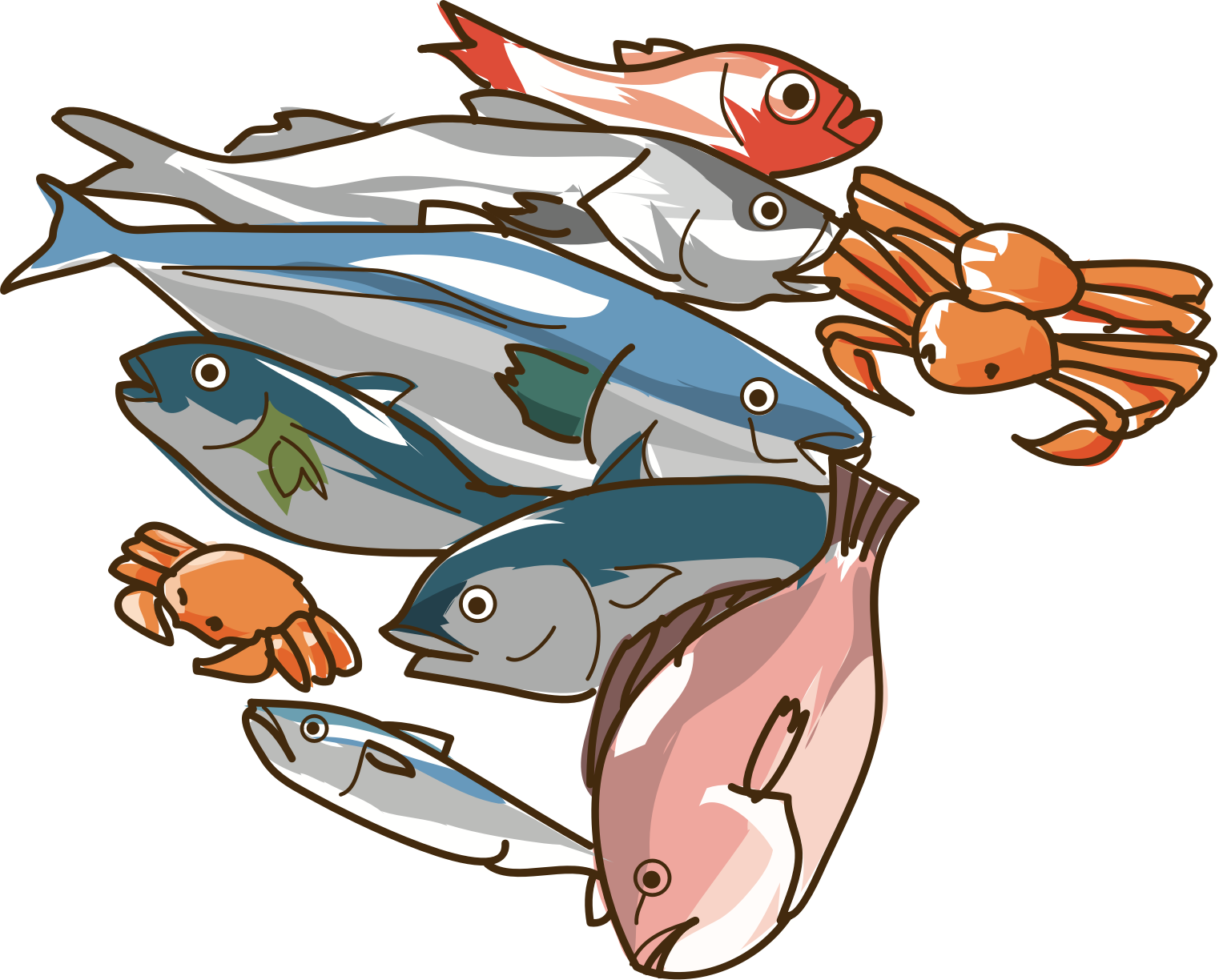 banner free Seafood clipart. Big image png.