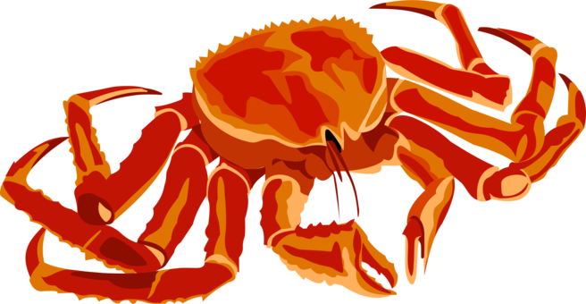 picture freeuse download Chesapeake blue crab Red king crab Seafood free commercial clipart