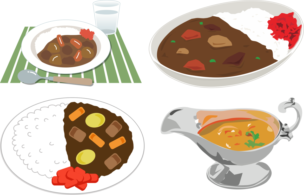 clipart transparent stock Japanese curry Japanese Cuisine Indian cuisine Rice and curry free