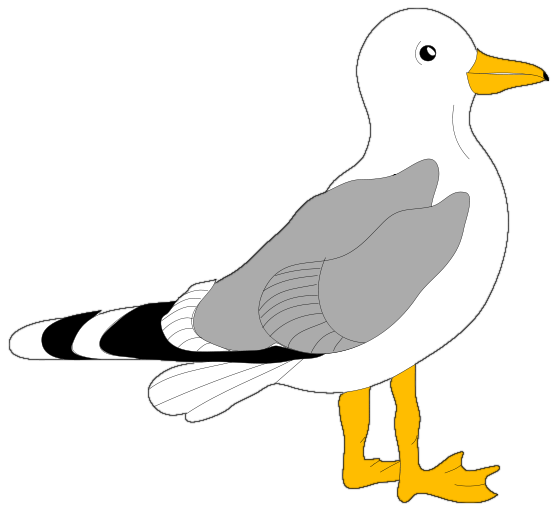 svg black and white stock Seagull clipart. Free cliparts download clip.