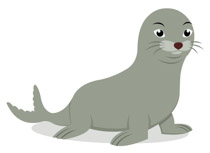 vector free stock Free clip art pictures. Seal clipart