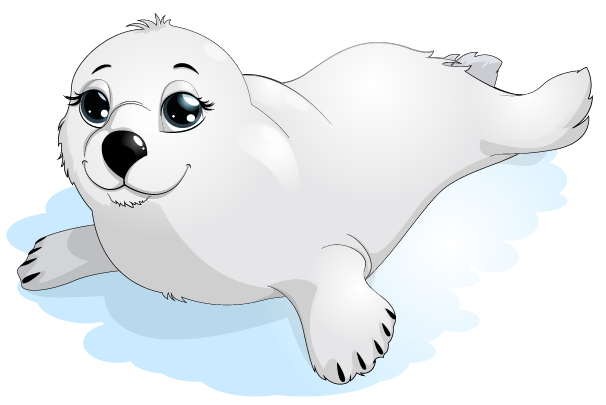 image royalty free library Seal clipart. Transparent png gallery yopriceville