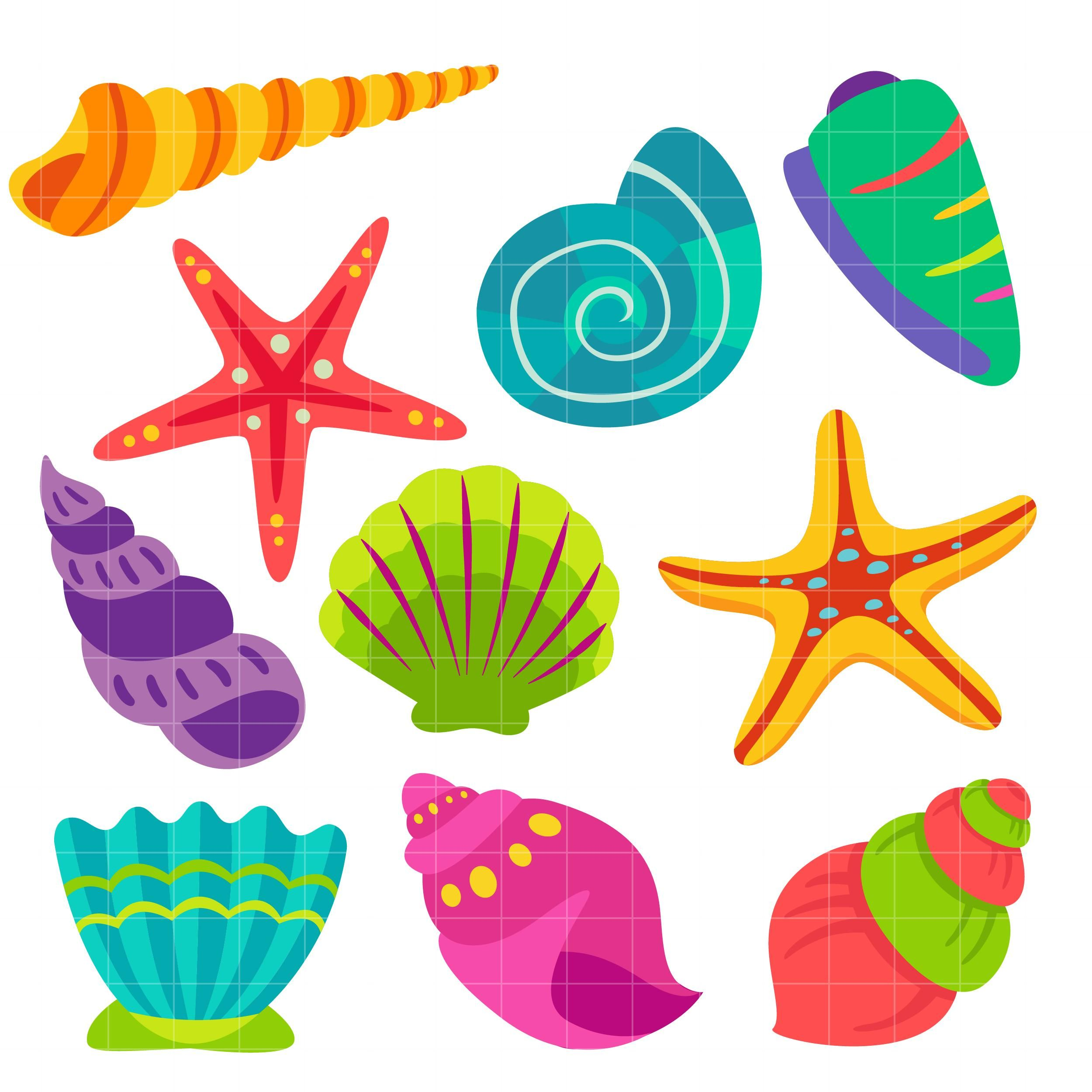 vector transparent download Clip art recycling for. Seashell clipart