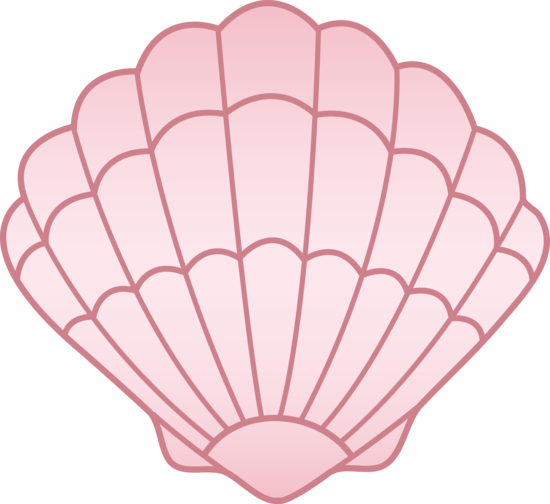 vector freeuse download Sea shell pink png. Seashell clipart