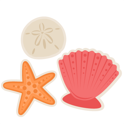 jpg black and white stock Shells clipart. Group large seashells cliparts