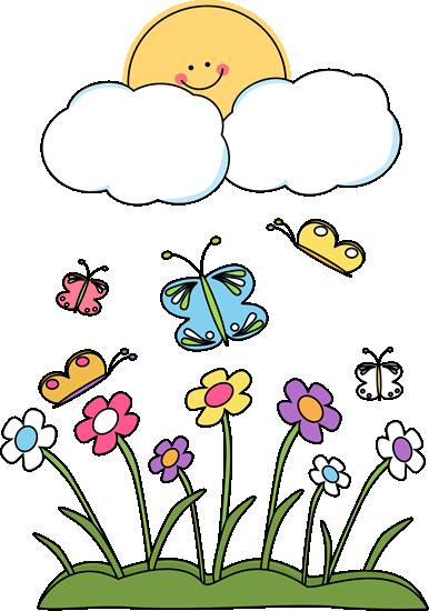 free library Spring Season Clipart