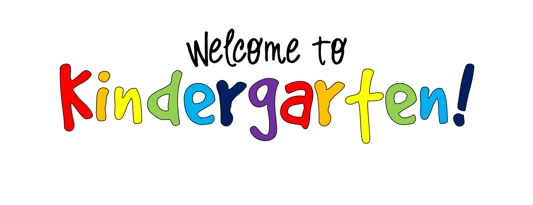 graphic library stock Free august clipart. Welcome to kindergarten chesterbrook.