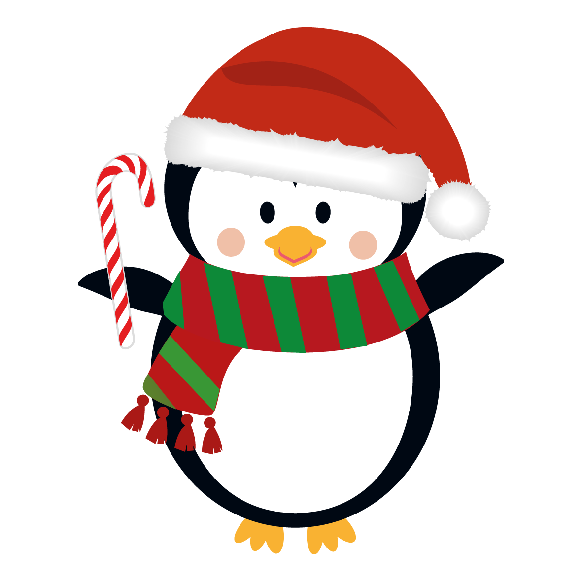 png black and white library Holidays Clipart festive season