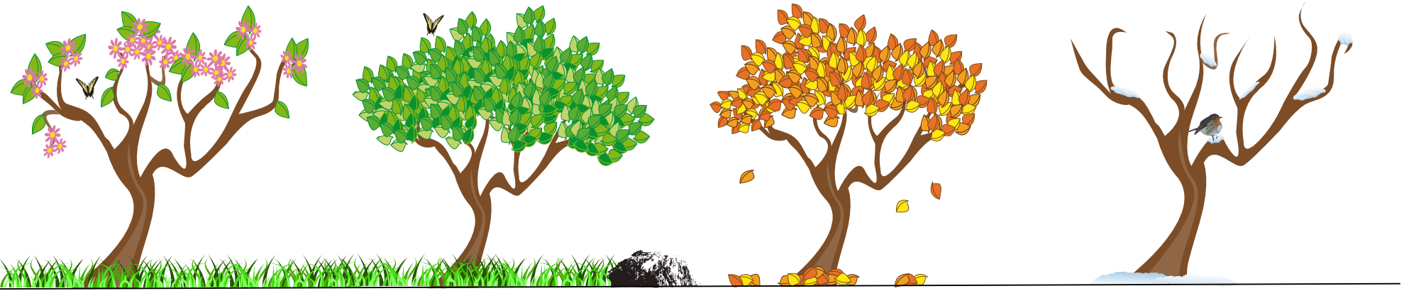 png transparent download Years clipart four season. Our school grounds bolshaw.