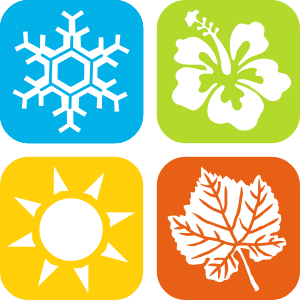 jpg transparent library Seasons clipart. Icons small image png