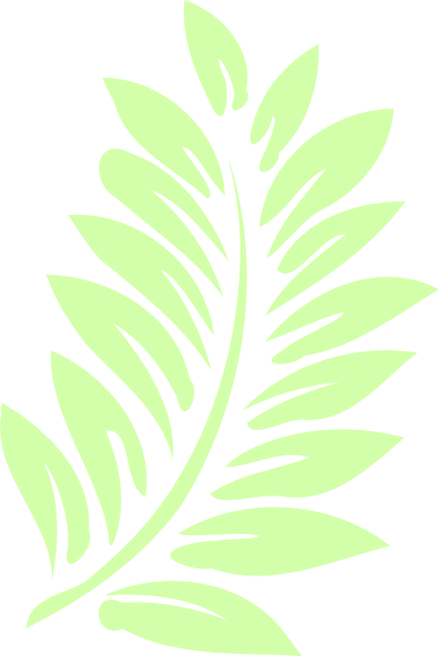 clip black and white library free stencil tropical leaf