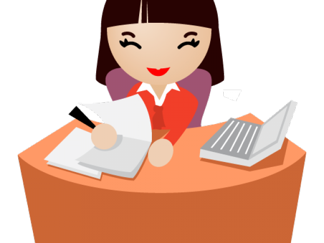 clip library download Secretary free on dumielauxepices. Lazy clipart office.