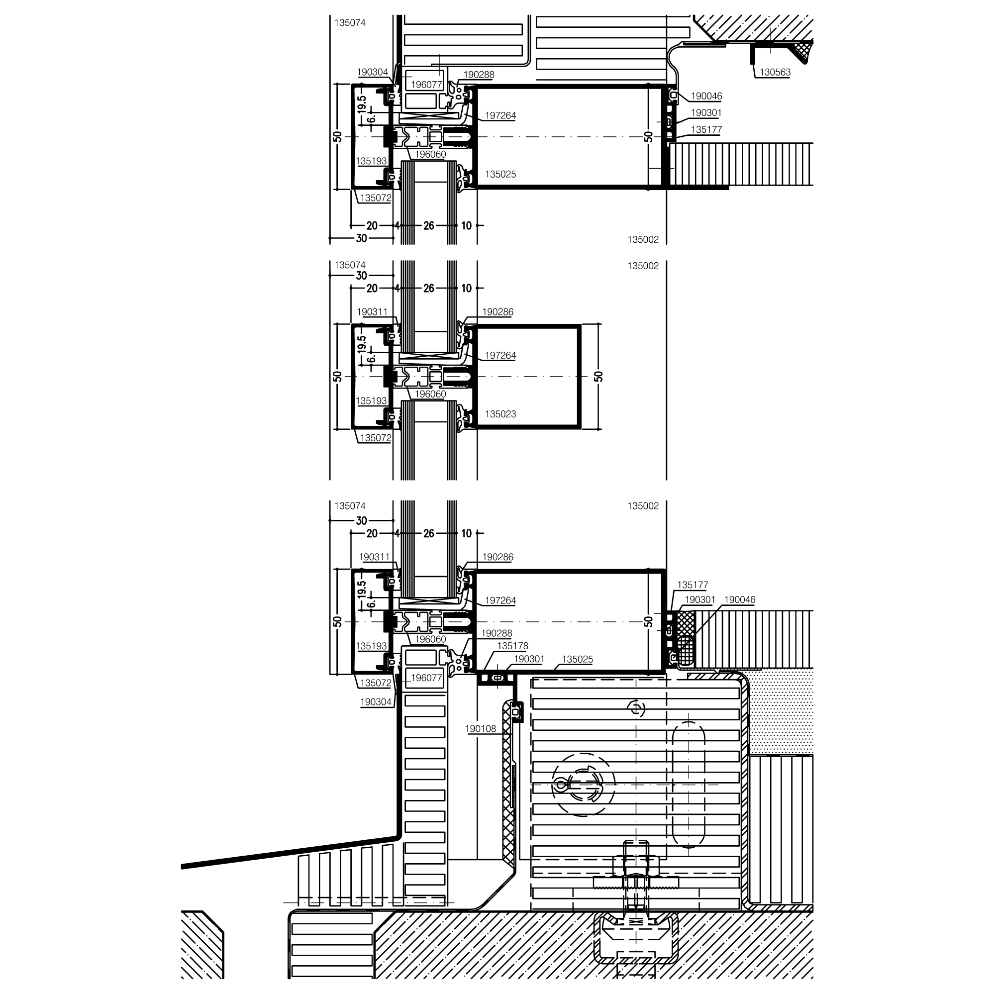 banner library Sectional drawing. Page .