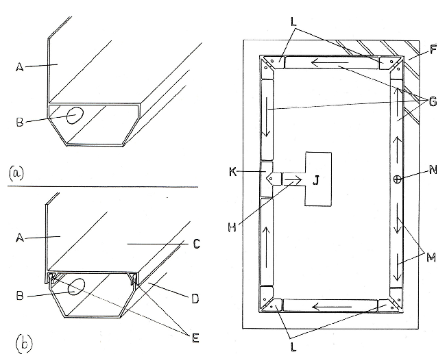 image freeuse Drawings of the perimeter. Sectional drawing.