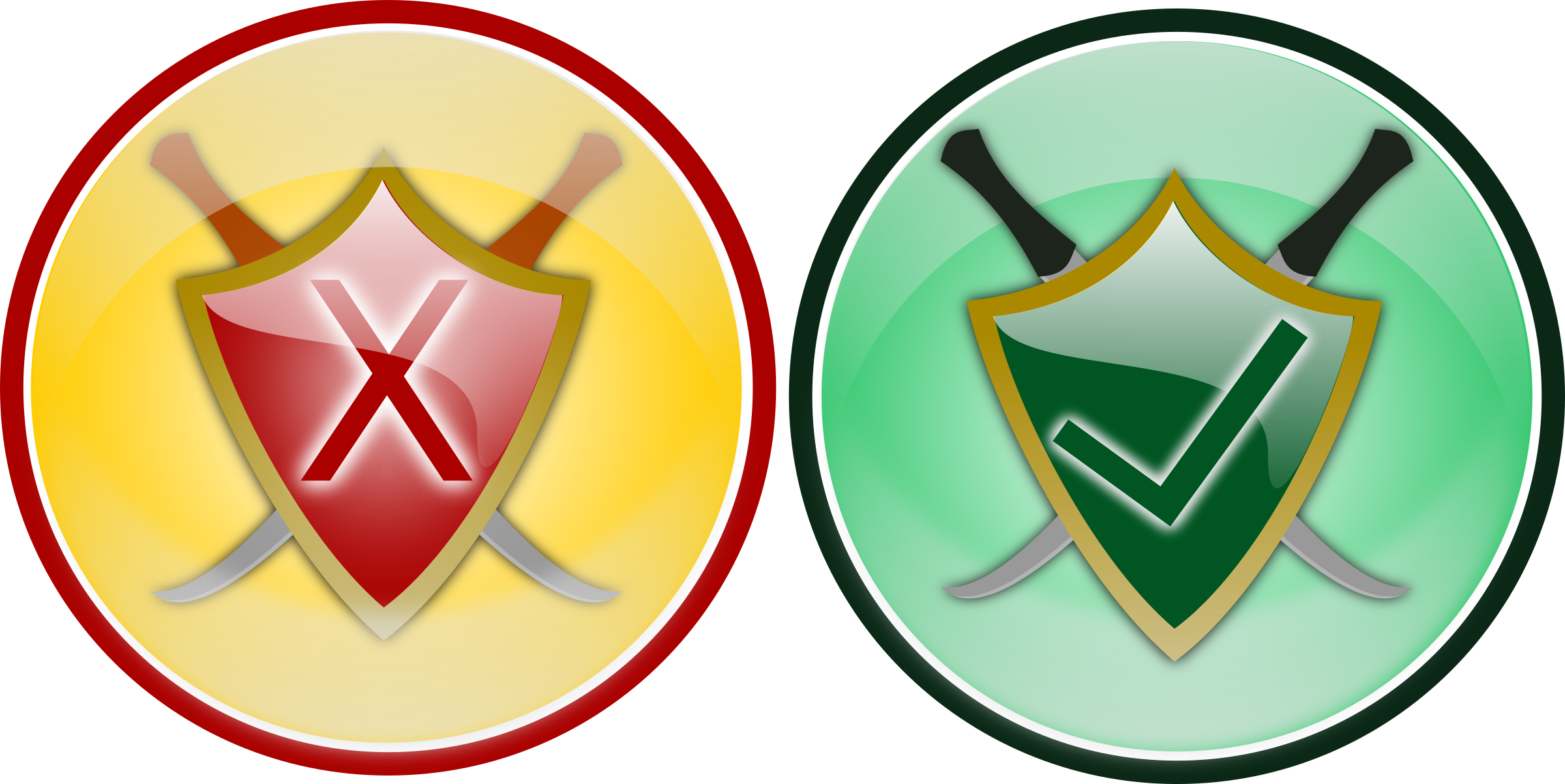 image freeuse library Icon big image png. Security badge clipart.