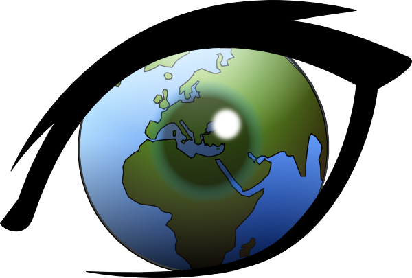 vector freeuse library See clipart. Eye can the world.